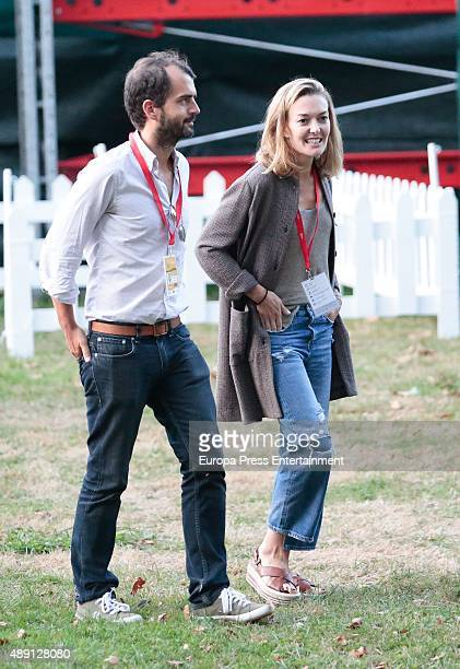 Marta Ortega attends 2015 CSIO International Jumping at Las Mestas on August 28 2015 in Gijon Spain