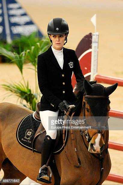 Marta Ortega attends the opening of 2014 Madrid Horse Week at Ifema on November 28 2014 in Madrid Spain