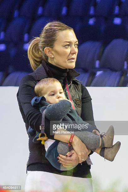 Marta Ortega Perez attends the 'Gucci Paris Masters 2013' at Paris Nord Villepinte on December 7 2013 in Paris France