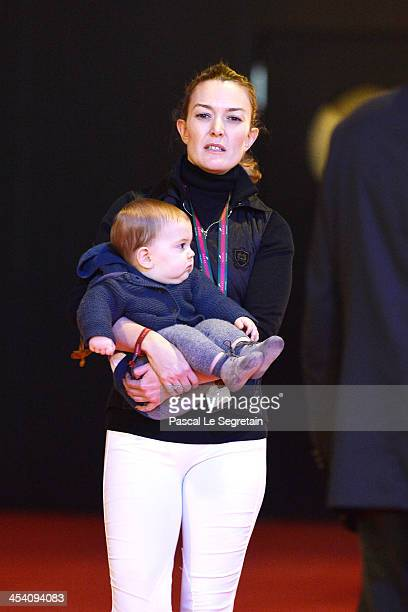Marta Ortega Perez attends the Gucci Paris Masters 2013 on December 7 2013 in Paris France