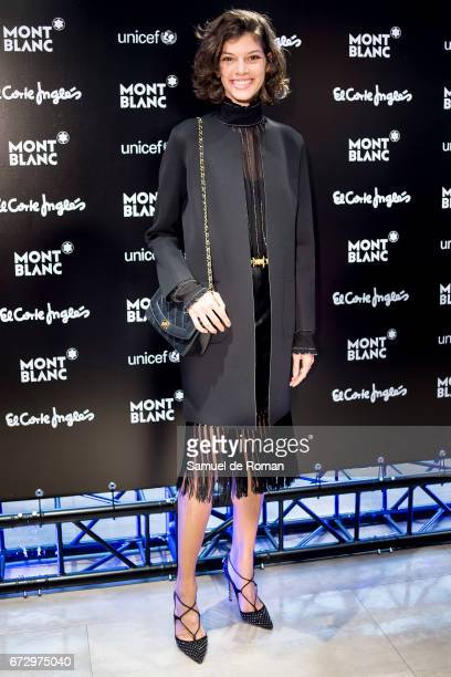 Marta Ortiz attends the Montblanc Presents Charity Collection For UNICEF on April 25 2017 in Madrid Spain