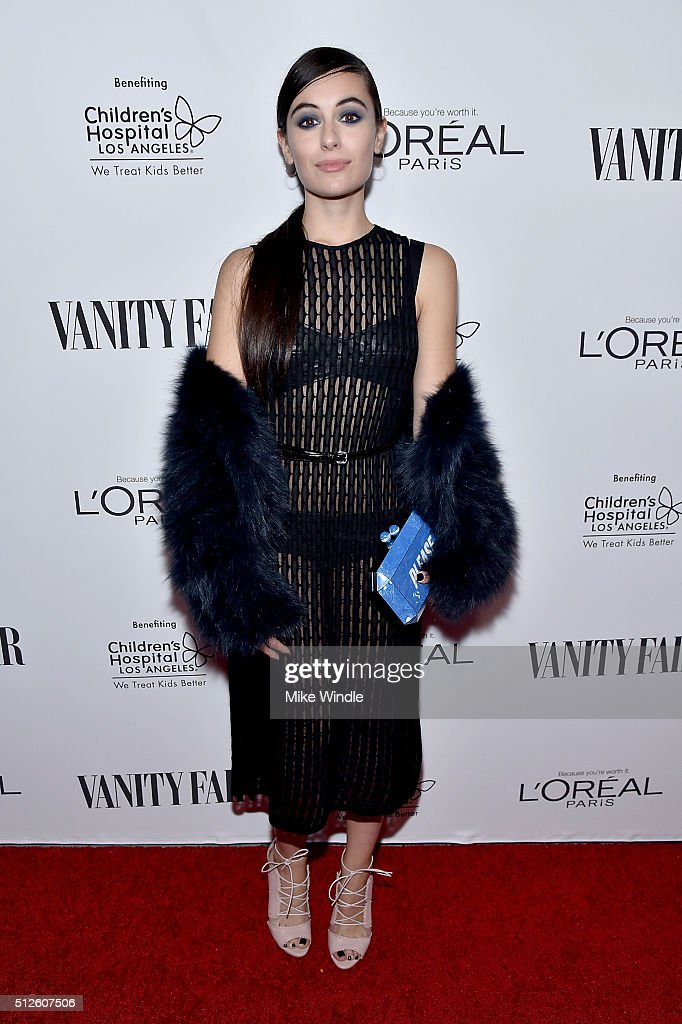 Marta Pozzan attends Vanity Fair, L'Oreal Paris, & Hailee Steinfeld host DJ Night at Palihouse Holloway on February 26, 2016 in West Hollywood, California.