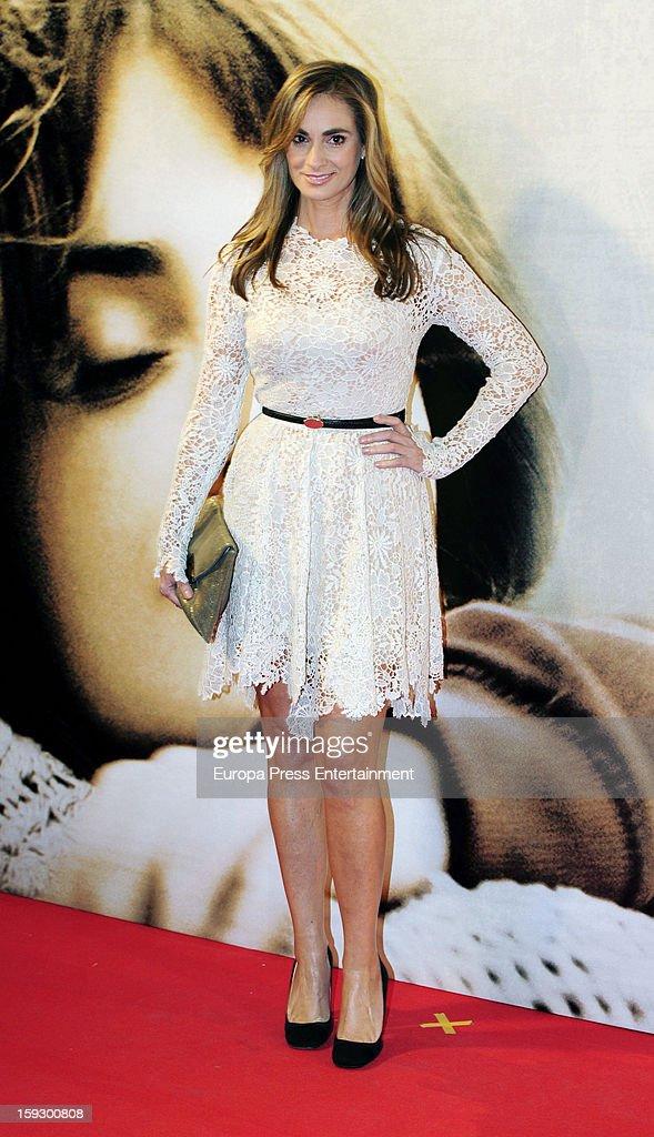 Marta Reyero attends 'Venuto Al Mondo' premierte at Capitol Cinema on January 10, 2013 in Madrid, Spain.