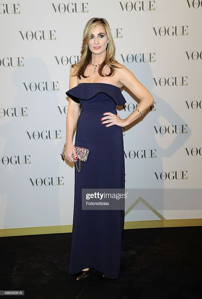 Marta Reyero attends Vogue Joyas 2013 Awards at the Palacio de la Bolsa on December 11, 2013 in Madrid, Spain.