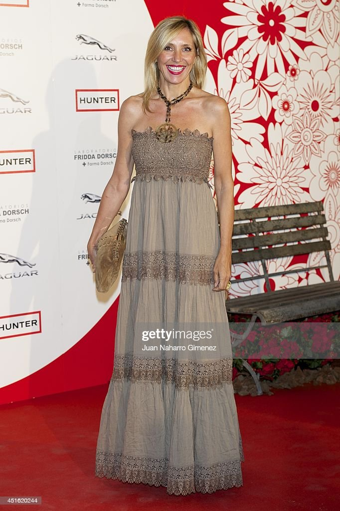 Marta Robles attends 'Corazon Solidario' awards 2014 at Miguel Angel Hotel on July 2, 2014 in Madrid, Spain.