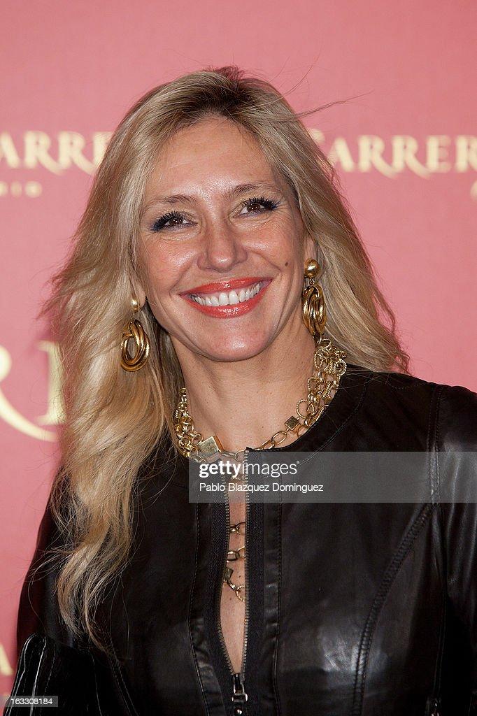Marta Robles attends 'Maja de los Goya Awards 2012' at Fernan Nunez Palace on March 7, 2013 in Madrid, Spain.