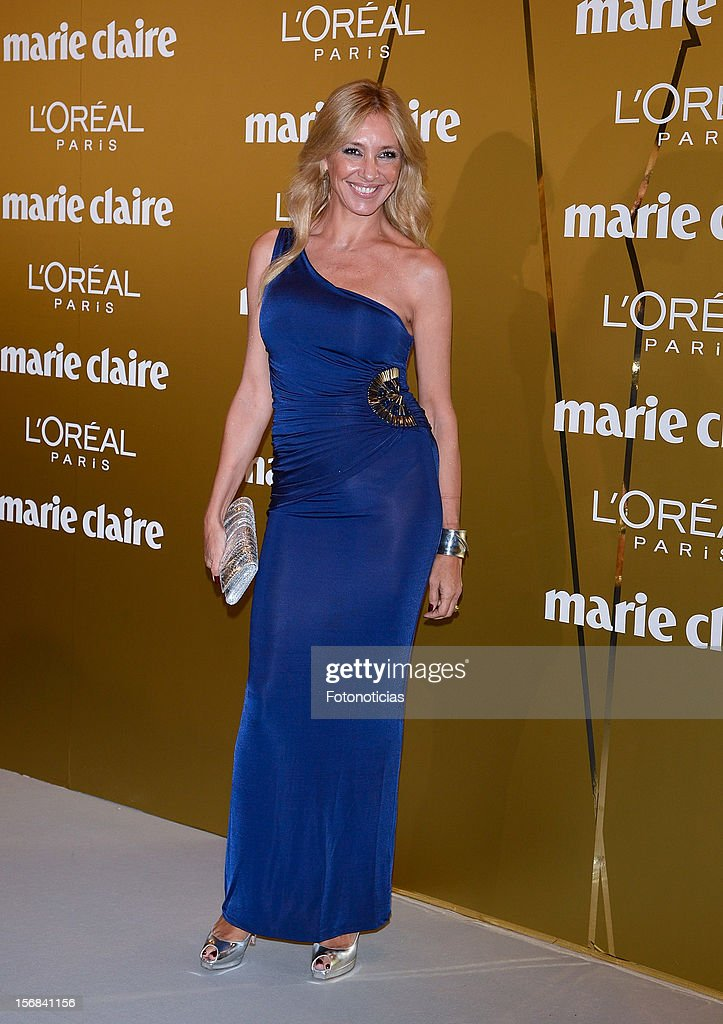 Marta Robles attends 'Marie Claire Prix de la Mode 2012' ceremony at the French Ambassadors Residence on November 22, 2012 in Madrid, Spain.