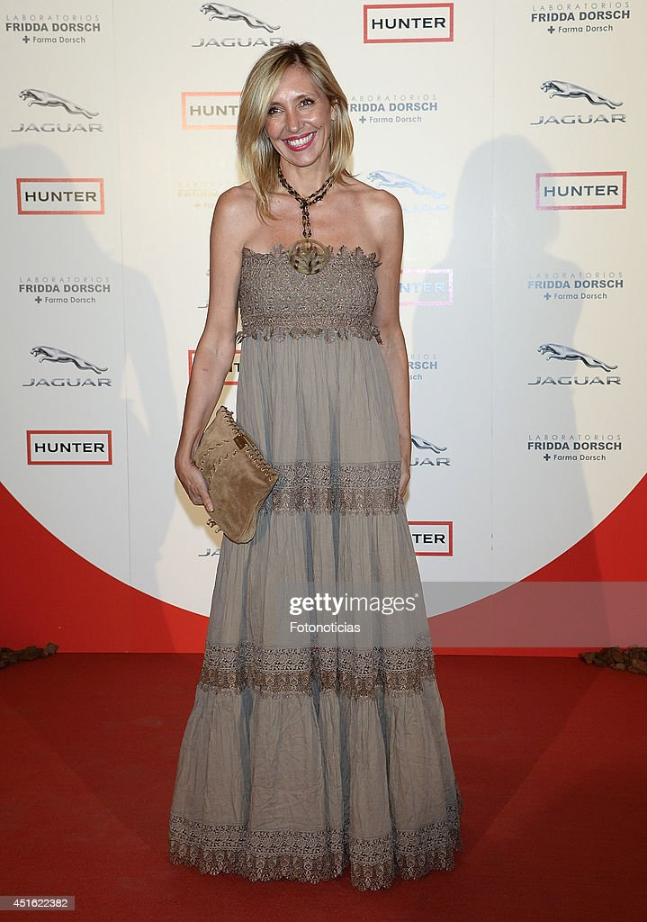 Marta Robles attends the 'Corazon Solidario' 2014 awards ceremony at Miguel Angel Hotel on July 2, 2014 in Madrid, Spain