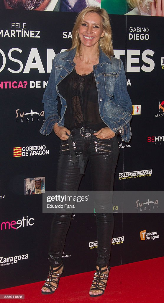 <a gi-track='captionPersonalityLinkClicked' href=/galleries/search?phrase=Marta+Robles&family=editorial&specificpeople=2201316 ng-click='$event.stopPropagation()'>Marta Robles</a> attends the 'Nuestros Amantes' premiere at Palafox cinema on May 30, 2016 in Madrid, Spain.
