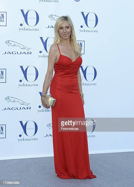 Marta Robles attends 'Yo Dona' International Awards 2013 at Finca La Munoza on June 20 2013 in Madrid Spain