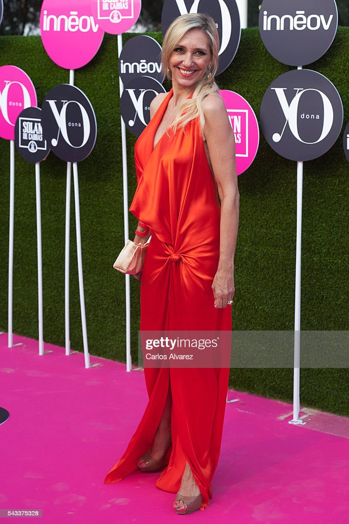 <a gi-track='captionPersonalityLinkClicked' href=/galleries/search?phrase=Marta+Robles&family=editorial&specificpeople=2201316 ng-click='$event.stopPropagation()'>Marta Robles</a> attends 'Yo Dona' International awards on June 27, 2016 in Madrid, Spain.