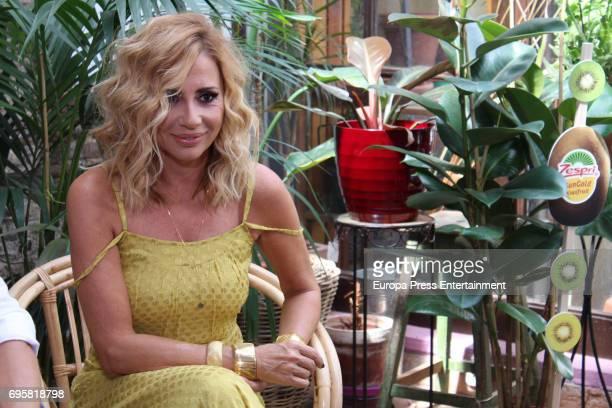 Marta Sanchez attends 'Jardin Queramonos' by Zespri on June 13 2017 in Madrid Spain