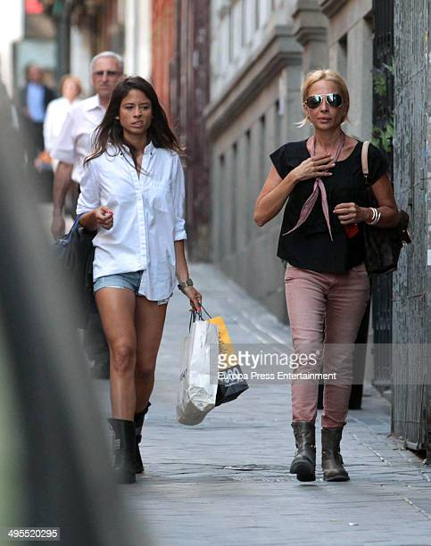 Marta Sanchez is seen on June 3 2014 in Madrid Spain