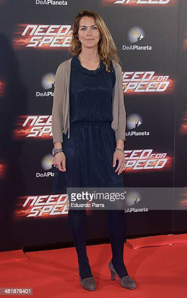 Marta Suria attends 'Need for speed' premiere photocall at Callao cinema on April 1 2014 in Madrid Spain