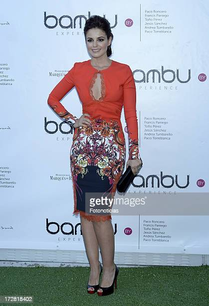 Marta Torne attends Bambu Producciones anniversary party at Shoko on July 4 2013 in Madrid Spain
