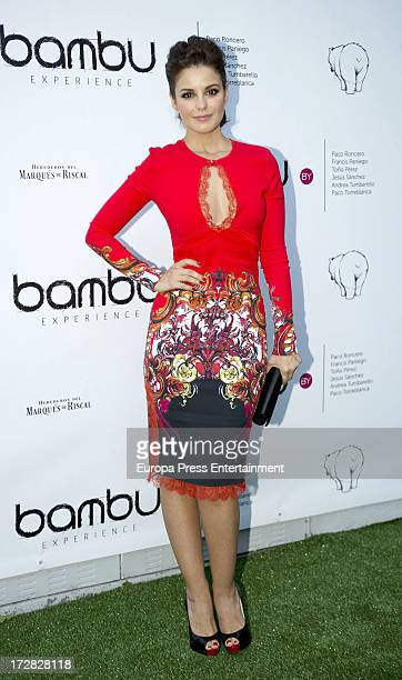 Marta Torne attends Bambu Producciones anniversary party at Shoko Nightclub on July 4 2013 in Madrid Spain