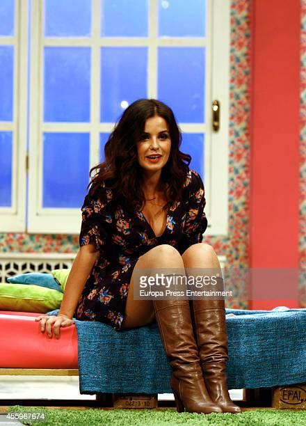 Marta Torne attends 'El Ministro' theatre play presentation at Cofidis Theatre on September 22 2014 in Madrid Spain