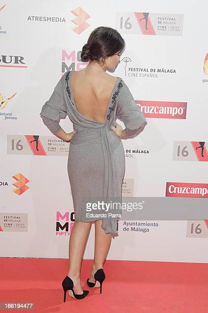 Marta Torne attends Malaga Film Festival party photocall at MOMA 56 disco on April 9 2013 in Madrid Spain
