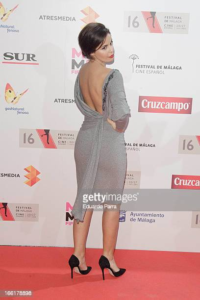 Marta Torne attends the Malaga Film Festival party photocall at MOMA 56 disco on April 9 2013 in Madrid Spain