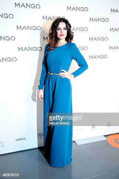 Marta Torne attends the Mango fashion show photocall during the last Mango's collection at the '080 Barcelona Fashion Week 2015 Fall/Winter' on...