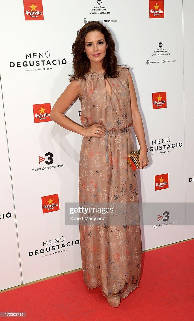 Marta Torne attends the premiere of 'Menu Degustacion' at Comedia Cinema on June 10, 2013 in Barcelona, Spain.