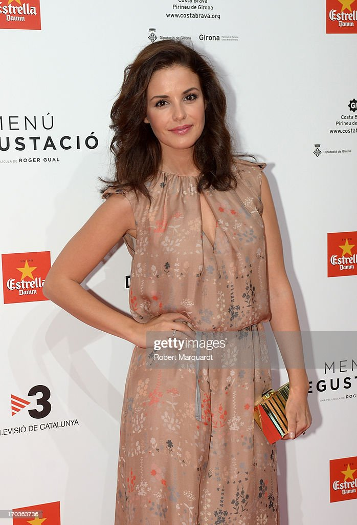 Marta Torne attends the premiere of 'Menu Degustacion' at Comedia Cinema on June 10, 2013 in Barcelona, Spain.