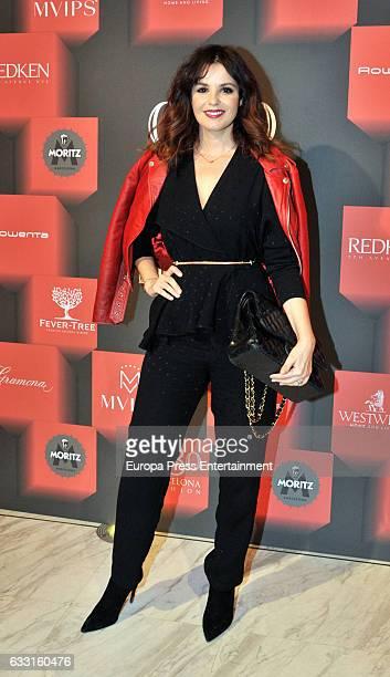 Marta Torne attends the presentation of 'Dorian Gray La Belleza No Tiene Piedad' by Pierre Cardin during Barcelona 080 Fashion Week Autumn/Winter...
