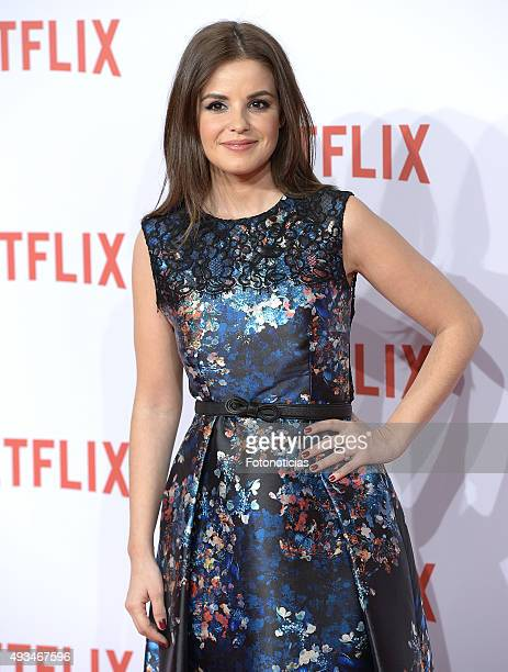 Marta Torne attends the red carpet of Netflix presentation at the Matadero Cultural Center on October 20 2015 in Madrid Spain