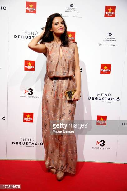 Marta Torne poses on the red carpet for the premiere of her latest film 'Menu Degustacion' at Comedia cinema on June 11 2013 in Barcelona Spain