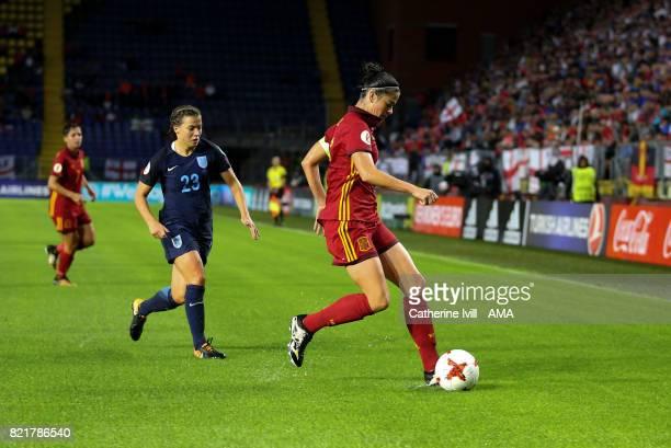 Marta Torrejon of Spain Women during the UEFA Women's Euro 2017 match between England and Spain at Rat Verlegh Stadion on July 23 2017 in Breda...