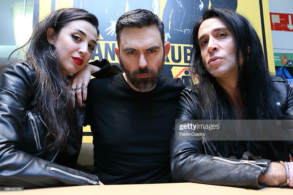 Nancys Rubias Sign Copies Of Their Last Album 'Amigas' in Madrid