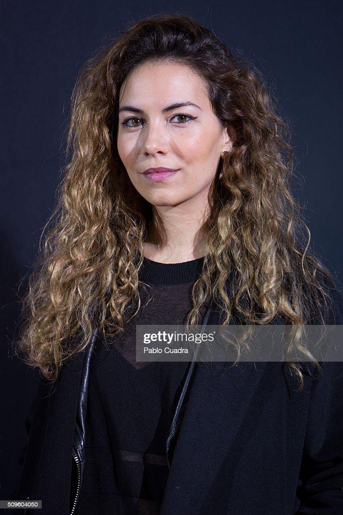 Marta Vives attends the 'El Ministerio del Tiempo' season 2 premiere at Capitol Cinema on February 11, 2016 in Madrid, Spain.