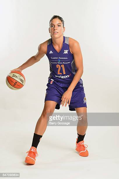 Marta Xargay of the Phoenix Mercury poses for a portrait during Media Day on July 13 2016 at the Talking Stick Resort Arena in Phoenix Arizona NOTE...