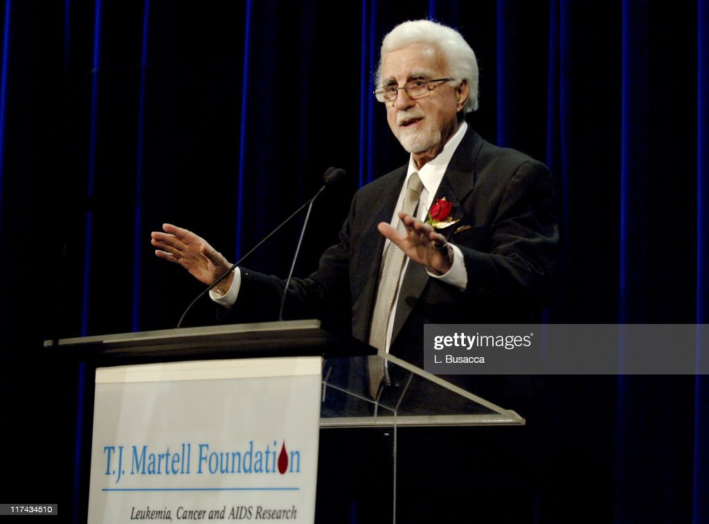 T.J. Martell at the T.J. Martell Foundation's 31st Annual Awards gala at the Marriott Marquis in New York City