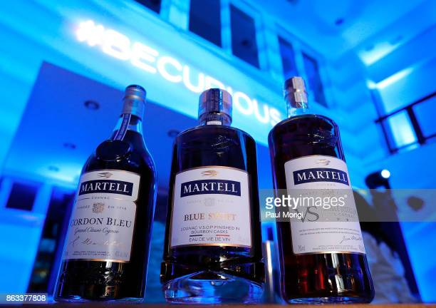 Martell Cordon Bleu Blue Swift and VS Single Distillery at the HOME by Martell event on October 19 2017 in Washington DC