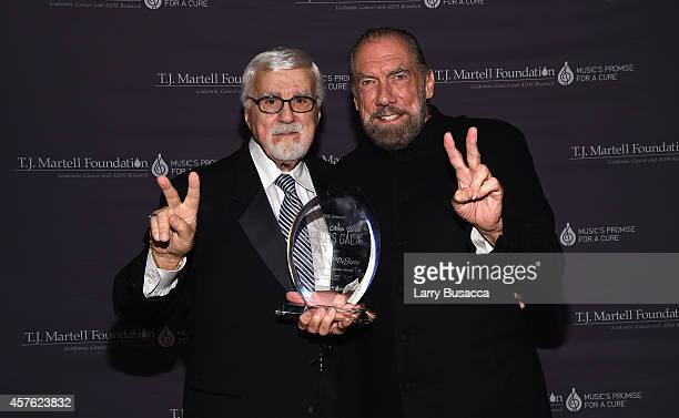 J Martell Foundation founder and chairman Tony Martell and CoFounder Chairman and CEO of John Paul Mitchell Systems and CoFounder of Patron Tequila...