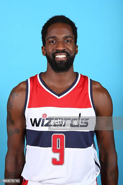 Martell Webster of the Washington Wizards poses for a photo during 2015 media day at the Verizon Center on May 18 2015 in Washington DC NOTE TO USER...