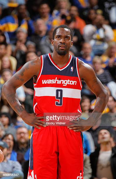 Martell Webster of the Washington Wizards while facing the Golden State Warriors on January 28 2014 at Oracle Arena in Oakland California NOTE TO...