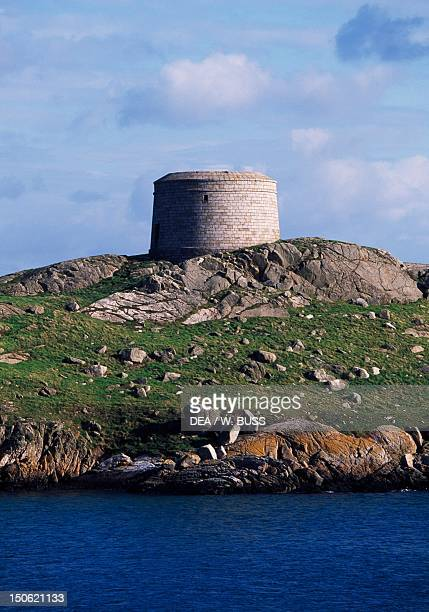 Martello tower in Killiney Dublin Ireland