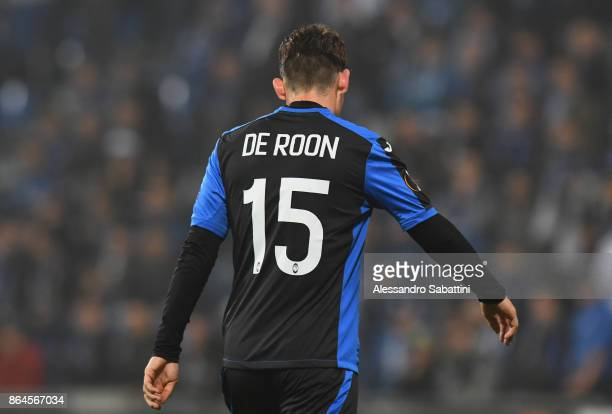 Marten De Roon of Atalanta looks on during the UEFA Europa League group E match between Atalanta and Apollon Limassol at Mapei Stadium Citta' del...