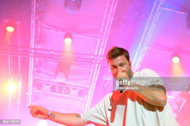 Marten Laciny aka Marteria performs on Sziget festival on August 14 2017 in Budapest Hungary