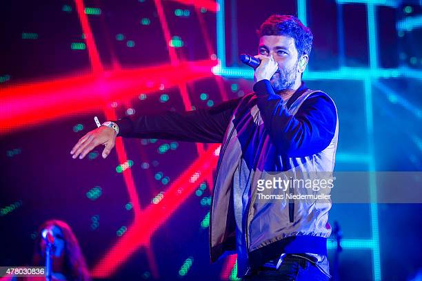 Marten Laciny of Marteria performs during day 3 of Southside Festival on June 21 2015 in Neuhausen Germany