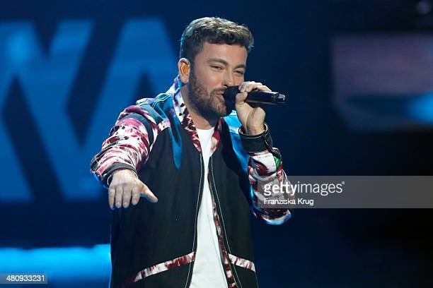 Marteria attends the Echo Award 2014 show on March 27 2014 in Berlin Germany