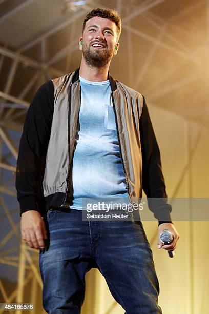 Marteria performs at Kindl Buehne Wuhlheide on August 15 2015 in Berlin Germany