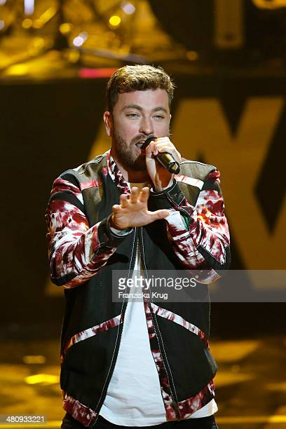 Marteria performs at the Echo Award 2014 show on March 27 2014 in Berlin Germany