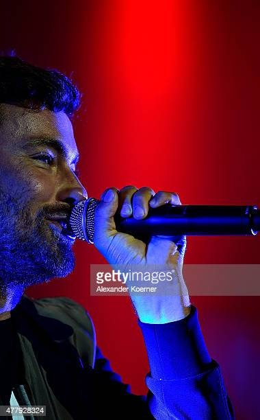 Marteria performs on Green Stage at the Hurricane Festival 2015 during morning on June 20 2015 in Scheessel Germany More than 70 bands are expected...