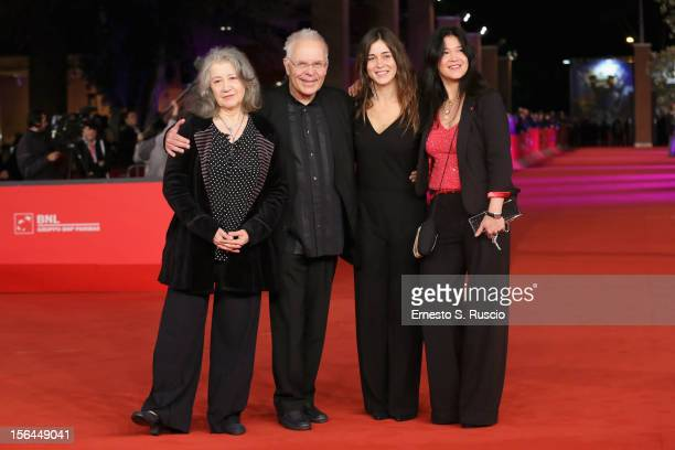 Martha Argerich Stephen Kovacevich Stephanie Argerich and Lyda Chen attend the 'Bloody Daughter' Premiere during the 7th Rome Film Festival at the...