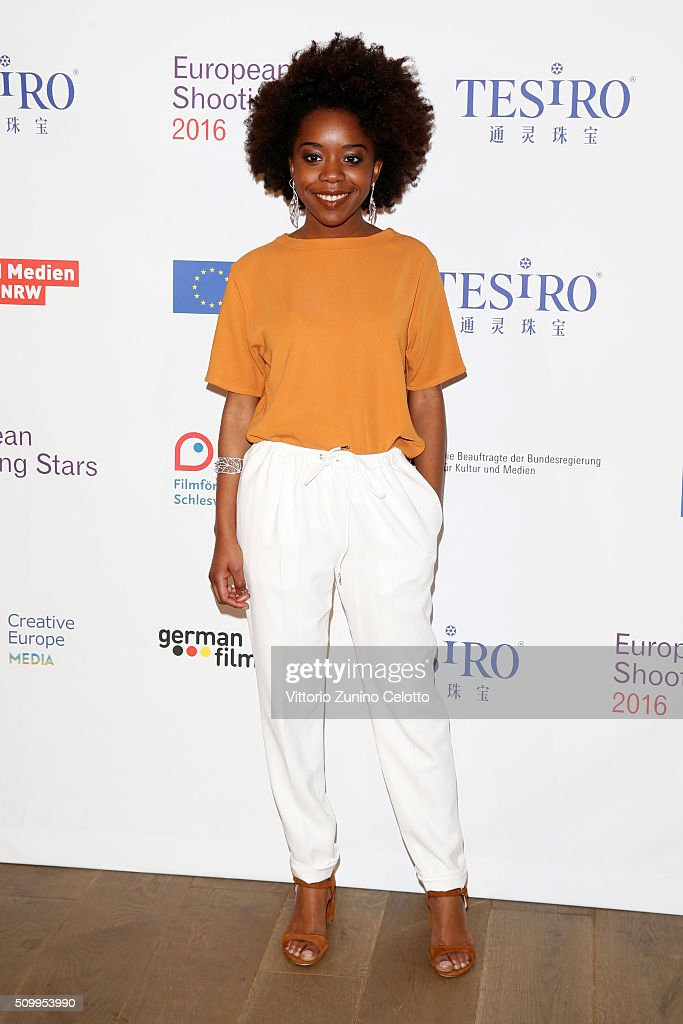 Martha Canga Antonio attends the Shooting Stars 2016 photo call in cooperation with L'Oreal during the 66th Berlinale International Film Festival Berlin at 25hours Hotel on February 13, 2016 in Berlin, Germany.