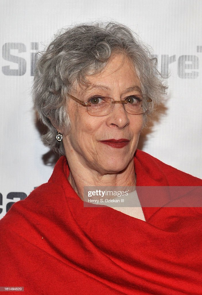 Martha Clarke attends the 2013 Signature Theatre Gala at The Signature Center on February 11, 2013 in New York City.