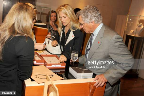 Martha De Laurentiis and Charlie Perrin attend BVLGARI 'Save The Children' Cocktail Party at BVLGARI on June 18 2009 in New York